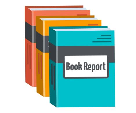 How to write a book report fiction